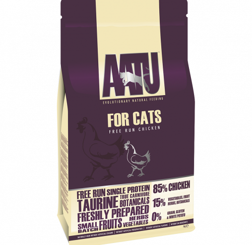 AATU – מזון לחתולים – תרנגולי חופש