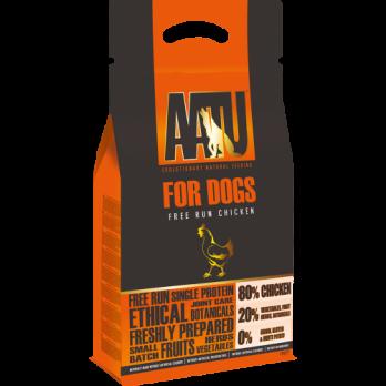 AATU – מזון לכלבים – תרנגולות חופש