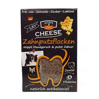 QChefs – Dental Flakes – חטיף / תוסף מזון דנטלי טבעי ובריא לכלבים