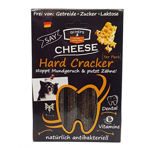 QChefs - Hard Cracker - חטיף דנטלי טבעי ובריא לכלבים