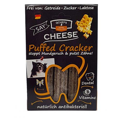 QChefs - Puffed Cracker - חטיף דנטלי טבעי ובריא לכלבים