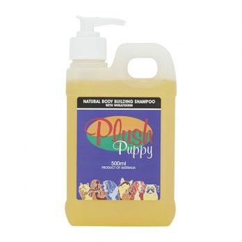 Plush Puppy – שמפו טבעי לעובי ונפח המכיל נבטי חיטה