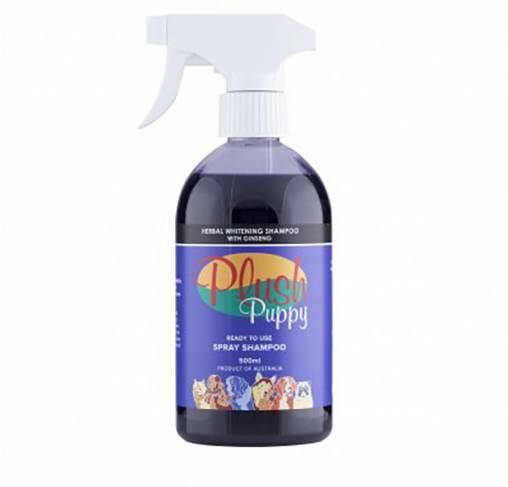 Plush Puppy - תרסיס שמפו צמחי מלבין עם ג'ינסנג RTU