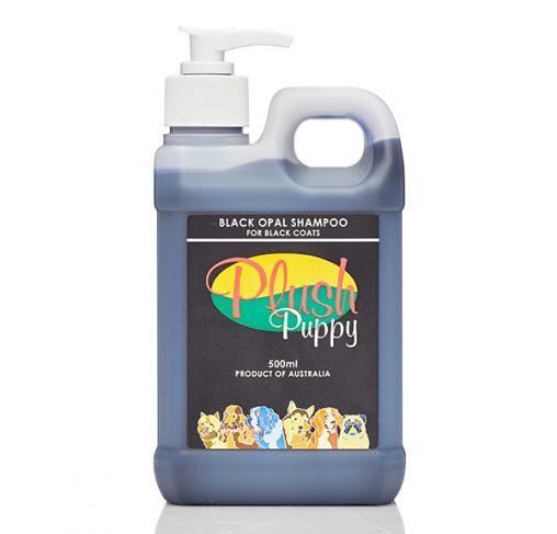 Plush Puppy - שמפו שחור אופל