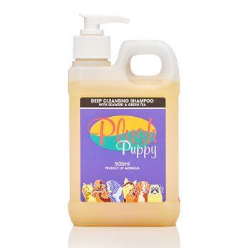 Plush Puppy – שמפו לניקוי עמוק עם אצות ים ותה ירוק