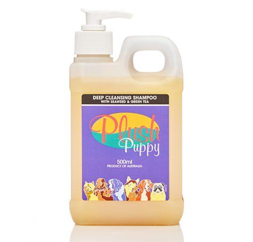 Plush Puppy - שמפו לניקוי עמוק עם אצות ים ותה ירוק