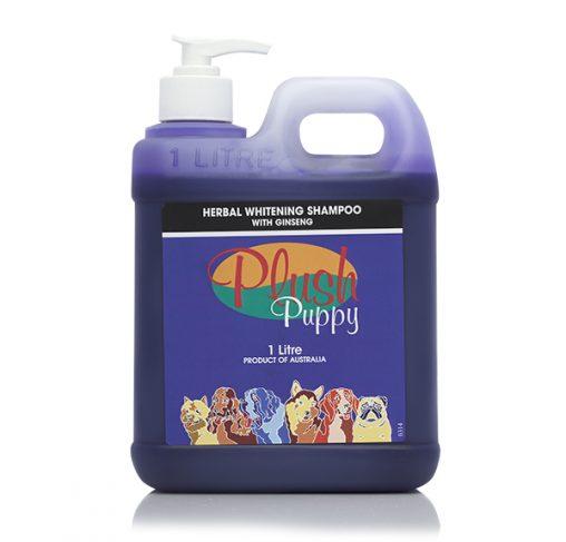Plush Puppy - שמפו צמחי מלבין עם ג'ינסנג