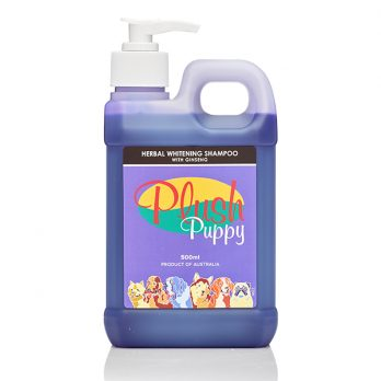 Plush Puppy – שמפו צמחי מלבין עם ג'ינסנג