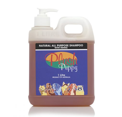 Plush Puppy - שמפו טבעי לכל סוגי הפרוות המכיל חינה