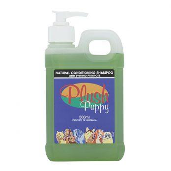 Plush Puppy – שמפו טבעי מעניק לחות עם שמן נר הלילה