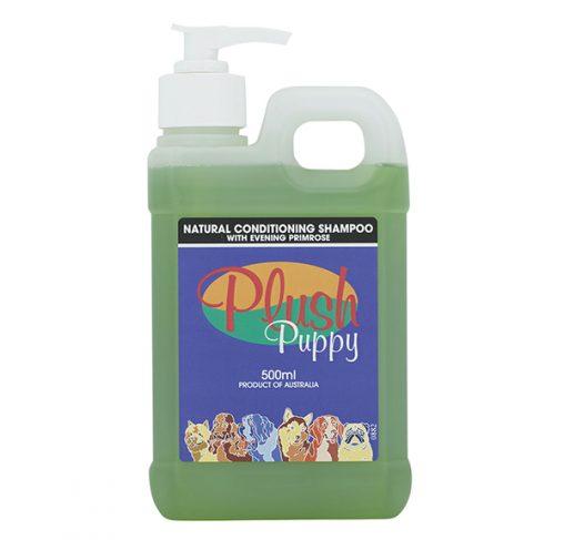 Plush Puppy - שמפו טבעי מעניק לחות עם שמן נר הלילה