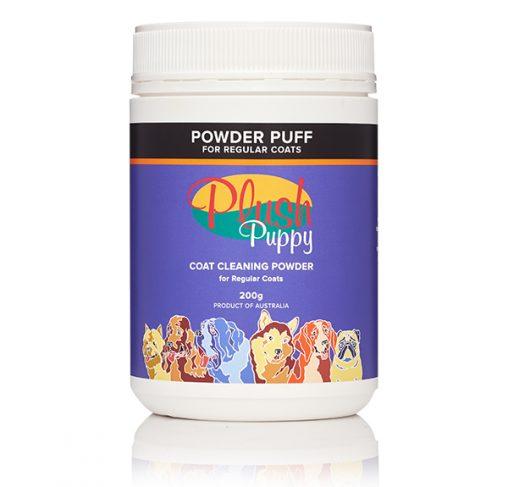 Plush Puppy - שמפו יבש באבקה לכל סוגי הפרוות.