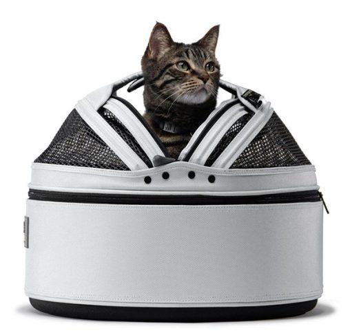Sleepypod - מיטה / מנשא / מושב רכב לכלבים וחתולים - לבן