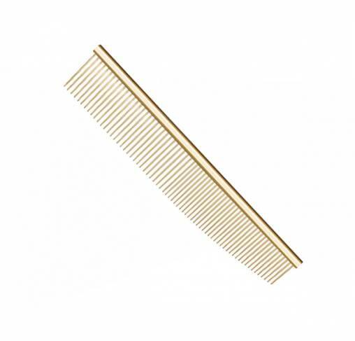 "UTSUMI - מסרק קומבינציה 16.5 ס""מ - זהב GOLD COMBINATION"
