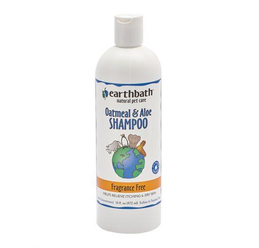 EarthBath - שמפו ש.שועל ואלוורה ללא ריח OATS & ALOE FF