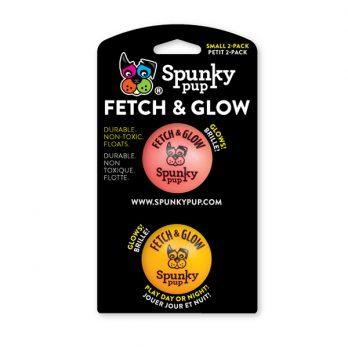Spunky Pup – צעצוע זריקה כדור זוהר בחושך FETCH & GLOW