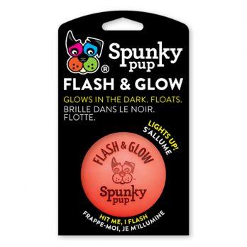 Spunky Pup – צעצוע כדור מהבהב זוהר בחושך