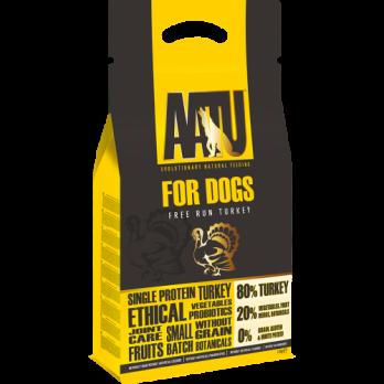 AATU – מזון לכלבים – תרנגולות הודו חופש