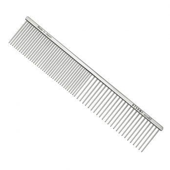 "UTSUMI – מסרק 25 ס""מ שיניים באורך 4 ס""מ 50/50 – Eco #2 – כסף"