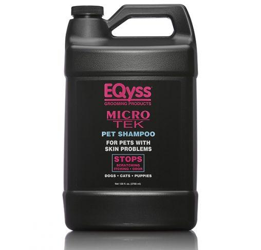 EQyss - גלון שמפו מסייע לעור מגורה Micro - Tek Shampoo