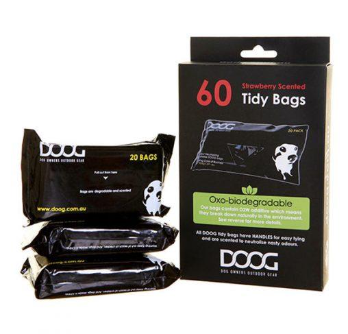 DOOG - שקיות לאיסוף צרכים (3 חבילות של 20 יח')  - PICK UP BAGS