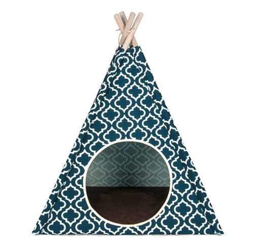 P.L.A.Y - אוהל אינדיאני כחול כהה מרוקאי TEEPEE TENT - MOROCCAN NAVY