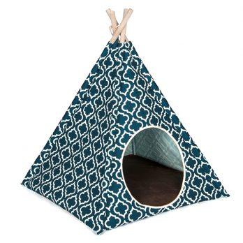 P.L.A.Y – אוהל אינדיאני כחול כהה מרוקאי TEEPEE TENT – MOROCCAN NAVY