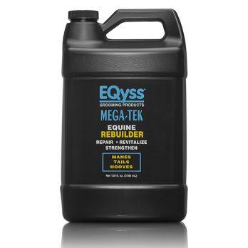 EQyss Equine – גלון מרכך משקם להצמחת וחיזוק רעמה פגומה ופרסות סדוקות MEGA TEK REBUILDER