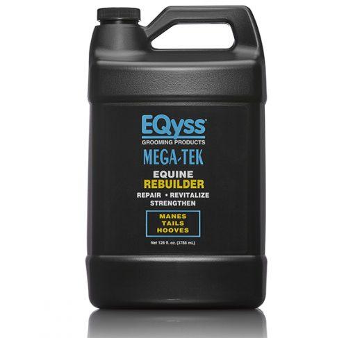 EQyss Equine - גלון מרכך משקם להצמחת וחיזוק רעמה פגומה ופרסות סדוקות MEGA TEK REBUILDER