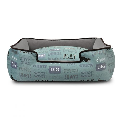P.L.A.Y – מיטה טרקלין חיי כלב / תכלת LOUNGE BED – DOG'S LIFE – LIGHT BLUE