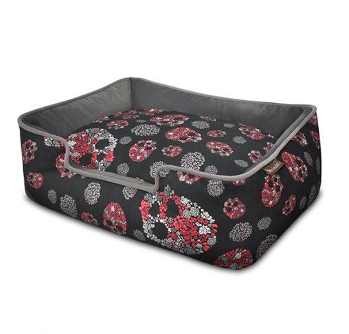 P.L.A.Y – מיטה טרקלין ורדים וגולגולות LOUNGE BED – SKULLS & ROSES