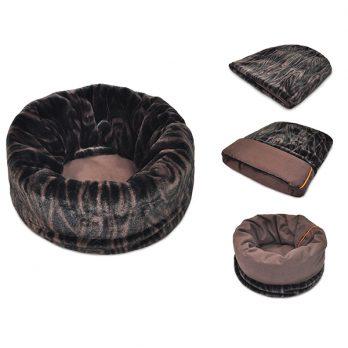 P.L.A.Y – מיטת התכרבלות חום כמהין – SNUGGLE BED – TRUFFLE BROWN