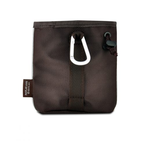 P.L.A.Y - פאוץ' חטיפים - SCOUT & ABOUT COMPACT TRAINING POUCH - MOCHA