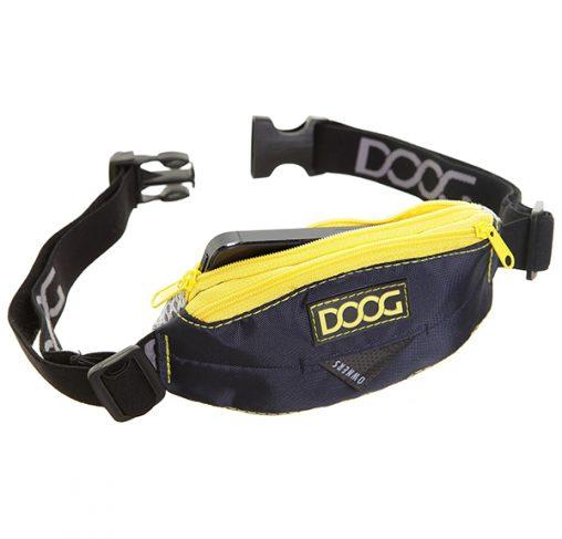 DOOG - פאוץ' מיני רצועה נמתחת שחור - MINI STRETCH BELT BLACK