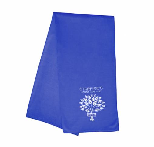 "Starfire's - מגבת מיקרופייבר גדולה 120X60 ס""מ - כחול"