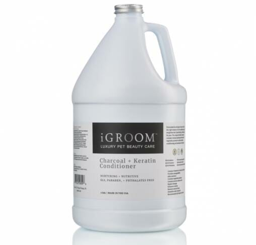 iGROOM - שמפו פחם וקרטין CHARCOAL & KERATIN