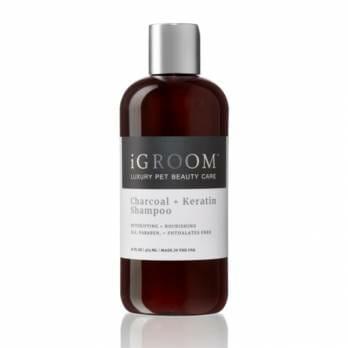 iGROOM – שמפו פחם וקרטין CHARCOAL & KERATIN