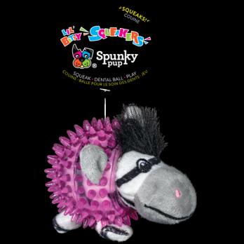Spunky Pup – בובת צעצוע Lil' Bitty Zebra