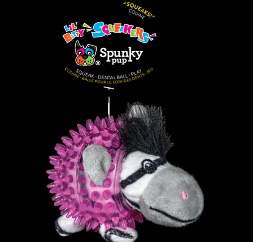 Spunky Pup - בובת צעצוע Lil' Bitty Zebra