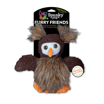 Spunky Pup – בובת צעצוע Owl Furry Friends