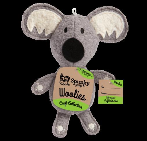 Spunky Pup - בובת צעצוע Woolies Koala