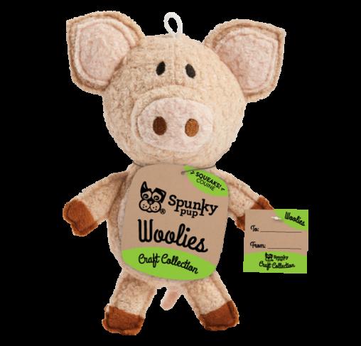 Spunky Pup - בובת צעצוע Woolies Pig