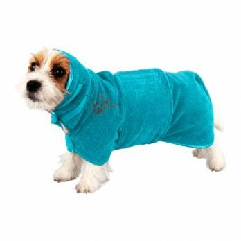 Show Tech – מגבת חלוק מיקרופייבר (עם חגורה) לכלבים וחתולים