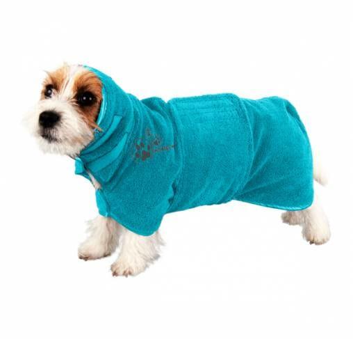 Show Tech - מגבת חלוק מיקרופייבר (עם חגורה) לכלבים וחתולים