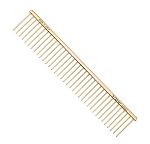 "UTSUMI - מסרק 25 ס""מ שיניים באורך 4 ס""מ - Eco #1 - זהב"