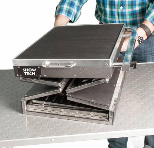 Show Tech - כלוב מתקפל למזוודה + שולחן עבודה ותצוגה 32x47.5x40.5cm