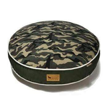 P.L.A.Y – מיטה עגולה צבעי הסוואה ROUND BED – Army Green M
