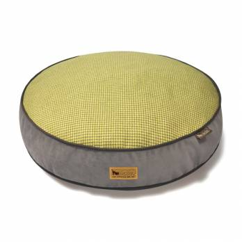 P.L.A.Y – מיטה עגולה צהובה ROUND BED – Houndstooth – Buttercup Yellow