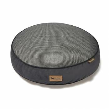 P.L.A.Y – מיטה עגולה אפורה ROUND BED – Houndstooth – Shadow Gray