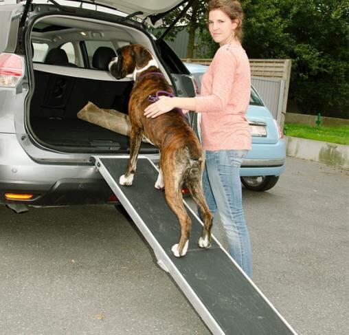 TRANSGROOM - רמפת אלומיניום לרכב לחיות מחמד